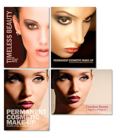 International Institute of Permanent Cosmetics 4-Pack Posters
